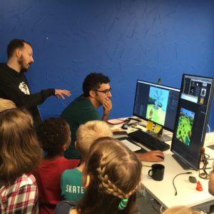 Taivallahden koulun oppilaat kävivät kanssamme Seriously-peliyhtiössä tutustumassa Best Fiends -pelin tekemiseen.