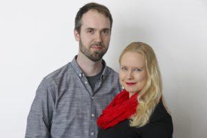 Jussi Kaakinen ja Elina Lappalainen